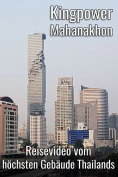 Der Wolkenkratzer ist da… Bangkok Travel Tips: Do you know the Kingpower Mahanakhon? Bangkok Travel, Asia Travel, Travel Tips, Great View, Willis Tower, Did You Know, Skyscraper, Building, Wanderlust