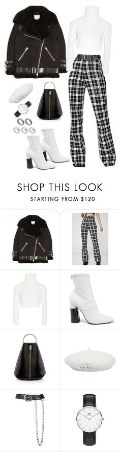 """Untitled #205"" by carolina11297 ❤ liked on Polyvore featuring Acne Studios, I.AM.GIA, Calvin Klein Collection, 3.1 Phillip Lim, Zana Bayne, Daniel Wellington and ASOS"