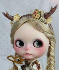 OOAK 2012 Xmas Custom Blythe Repaint Noelle Full Dress Set by Freddy Tan | eBay
