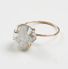 Featuring a stunning natural herkimer diamond stone in beautiful quality. The gemstone was hand crafted into a gold filled bezel set ring. Herkimer Diamond, Gold Diamond Rings, Diamond Stone, Diamond Jewelry, Raw Diamond, Solitaire Rings, Quartz Jewelry, Sapphire Jewelry, Bezel Set Ring
