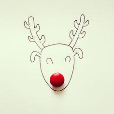 Rudolph The M&M Nose Reindeer by Cintascotch - Javier Pérez
