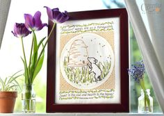 """""""Pleasant Words"""" Embroidery Pattern by Clementine Patterns on Etsy - $12 Made this~so sweet."""