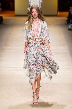 Semana de Moda de Milão :: O estilo étnico indígena da Etro