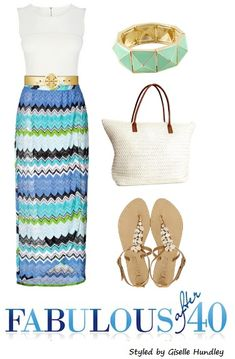 Go from ship deck to dining room in style with a maxi dress. Casual enough for daytime and easy to dress up for evening.