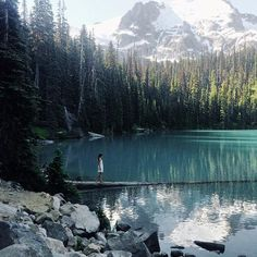 Joffre Lakes. This must be the place. #NowhereEverywhere                                                                                                                                                      More