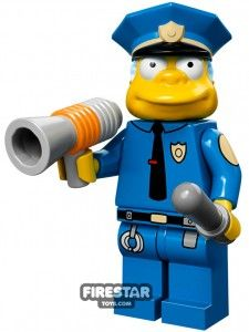 LEGO The Simpsons Collectable Minifigures - Chief Wiggum