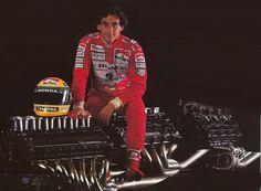 Ayrton Senna (Marlboro McLaren-Honda). 1992
