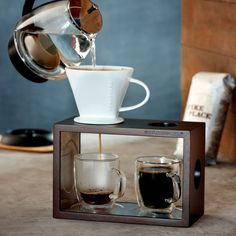 Starbucks Brew By the Cup Pour-Over Brewing System - http://teacoffeestore.com/starbucks-brew-by-the-cup-pour-over-brewing-system/