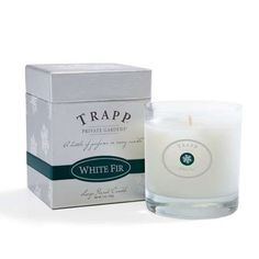 Trapp Candles White Fir- 7 Oz Poured Candle