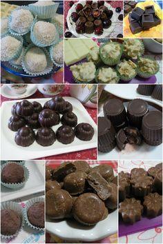 Tanti cioccolatini golosi e facili da fare ! #ricette #cioccolatini #dolci #dolciitaliani #ricettegustose