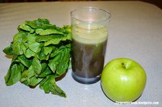 Juice Recipe: Blueberry Spinach Green Apple and Lemon Blueberry Juice, Blueberry Lemonade, Smoothie Recipes, Smoothies, Juice Recipes, Apple Recipes, Healthy Recipes, Spinach Juice, Smoothie