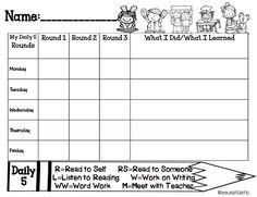 FREE Daily 5 student teacher check in sheets so much more! 60 pages in all! I don't do Daily but I have similar stations. Daily 5 Reading, Reading Lessons, Reading Strategies, Guided Reading, Teaching Reading, Reading Resources, Learning, Reading Stations, Reading Centers