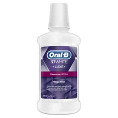 Oral B 3D White Luxe Mouthwash
