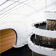 The library of the faculty of philology in the Free University, Berlin.