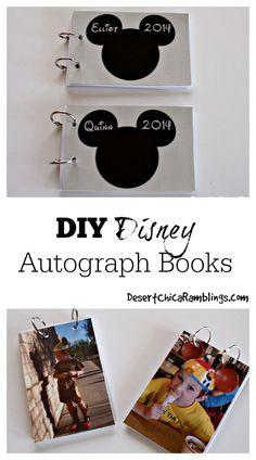 DIY Autograph Book