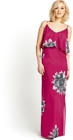 Pin for Later: 25 Summer Dresses Made For Your Next Holiday  Fearne Cotton sunflower-print maxi dress (£69)