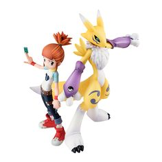 Renamon & Ruki Makino - Digimon