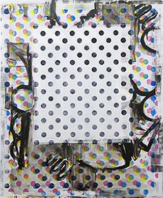 UK painting now: an overview of British artists working with abstract art Art Articles, British Artists, Op Art, Artist At Work, Circles, Contemporary Art, Abstract Art, Dots, The Incredibles