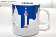 Shanghai- Starbucks City Mugs, Shanghai, China, Tableware, Hipster Stuff, Dinnerware, Tablewares, Dishes, Place Settings