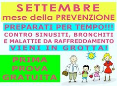 Settembre Mese della Prevenzione