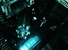 Romione - As the chandelier falls, EVERYONE dives out of the way. Harry, Draco, everyone. EXCEPT Ron. Ron dives TOWARDS it in order to grab Hermione and get her to safety. I just. Why do people ship anything but Romione again? He is the ONLY one that stayed upright AND moved towards the potentially deadly falling object to save the woman he loves. That is all.