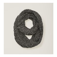 LOFT Chunky Knit Infinity Scarf ($40) ❤ liked on Polyvore featuring accessories, scarves, black, loop scarves, circle scarf, tube scarf, chunky infinity scarf und chunky infinity scarves
