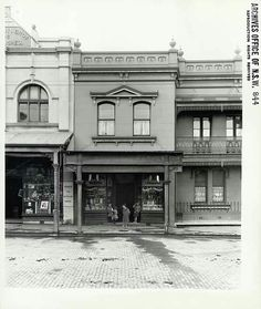 96 Abercrombie Place - East side between Bank Street and Bartley Steet,The Rocks of Sydney in 1899. •State Records of NSW•