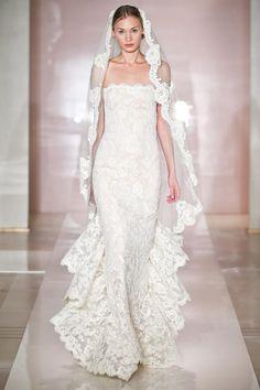 Reem Acra Bridal Collection Fall Winter 2014 2015 #vestidosdenovia #novias2015 #bodas2015
