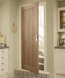 This Genoa Oak internal hardwood door adds interest and works well in both modern and classic interiors. Doors Interior, Oak Doors, Windows And Doors, House, Home, House Doors, Hardwood Doors, Home Decor, Internal Doors