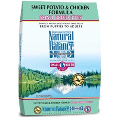 Natural Balance L.I.D. Limited Ingredient Diets Sweet Potato & Chicken Small Breed Bites Dog Food, 12.5 lbs for $34.99