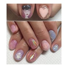 #art #ショートネイル #春ネイル #intheforestnail