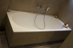 Badkamer Stucen Betonlook : Best betonstuc badkamers images washroom