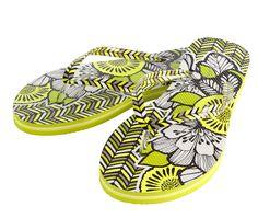 c35b72b2b70e87 Vera Bradley flip flops. Love the  citron print. Vera Bradley Patterns