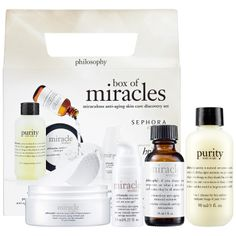Box Of Miracles Miraculous Anti-Aging Skin Care Discovery Set - Philosophy   Sephora