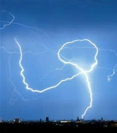 Dancing Lightning Bolt