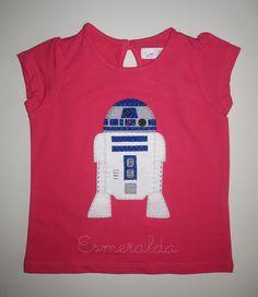 cocodrilova: camiseta starwars R2D2 #camiseta #starwars #r2d2 #bebe