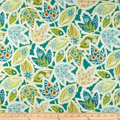 Blend Bella Large Floral Green/Multi                                      Item Number: 0268703                                                                                                                                     Our Price:      $8.98 per YD