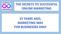 15 years ago marketing was just for business