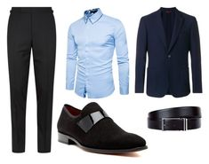 """""""Smart casual"""" by vanyflores on Polyvore featuring Tom Ford, FAY, HUGO, Mezlan, men's fashion y menswear"""