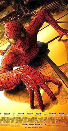 Directed by Sam Raimi.  With Tobey Maguire, Kirsten Dunst, Willem Dafoe, James Franco. When bitten by a genetically modified spider, a nerdy, shy, and awkward high school student gains spider-like abilities that he eventually must use to fight evil as a superhero after tragedy befalls his family.