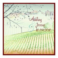 DealsVintage, Tuscany Vinyard/wedding invitationstoday price drop and special promotion. Get The best buy
