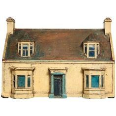 Painted Model House 1