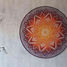 Crochet Mandala Pattern, Doily Patterns, Crochet Doilies, Knit Patterns, Crochet Crafts, Crochet Projects, Crochet Elephant, Crochet For Beginners, Lace Knitting