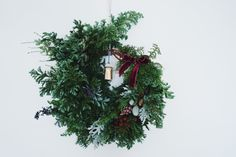 Green Baton //wreath