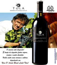 Aproveite o inverno!  Abra um Nero D'Avola Black Label Tola.  www.chavesoliveira.com.br / ( 11 ) 2155 0871