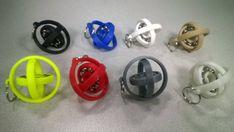 New Gyro-Fidget Keychain Hand Spinner / Fidget by 3DCustomGallery
