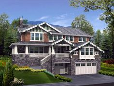 Lakefront House Plan chp-39348 at COOLhouseplans.com