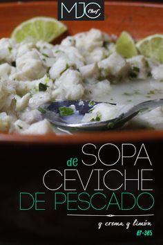 Ceviche Soup! #ceviche #fish #lemon #soup