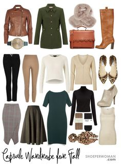 sample capsule wardrobe for autumn 2014