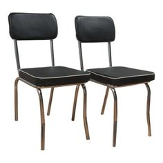 Enjoy Delicious Home Cooked Meals In Vintage Style With This Retro Dining  Essential. Product: Set Of 2 ChairsConstr.
